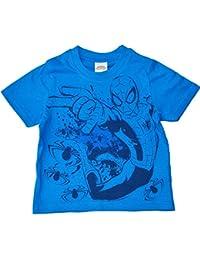 Boys - Marvel Ultimate Spiderman 100% Cotton Short Sleeve Summer T-Shirt Top