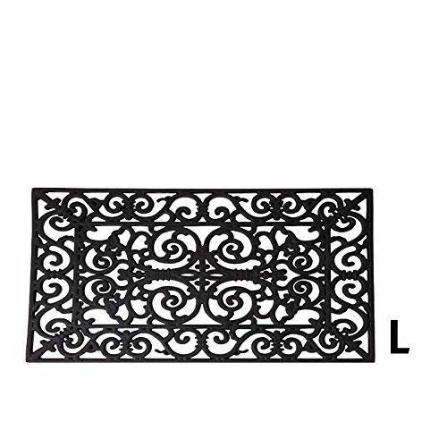 Felpudos Exteriores Fallen de primer plano de RB03 rectangular Felpudo