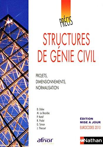 Précis de structures de génie civil