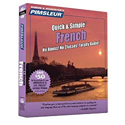 Pimsleur French Quick & Simple Course - Level 1 Lessons 1-8 Cd: Learn To Speak & Understand French With Pimsleur Language Programs