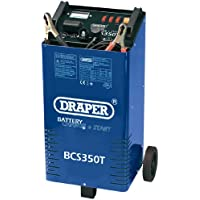 Draper 40180 12V/ 24V 300A Battery Starter/ Charger with Trolley - ukpricecomparsion.eu