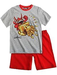 Skylanders Garçon Pyjama court - rouge