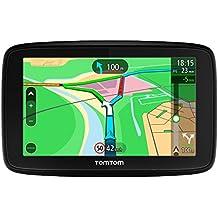 """TomTom VIA 53 - GPS Navegación con pantalla táctil de 5"""", y mapa de 45 países, color negro,  planifica rutas inteligentes que te ayudan a escapar del tráfico en tiempo real - color negro"""
