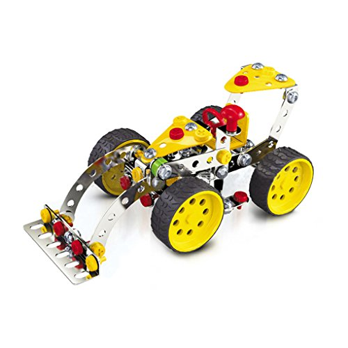 Kids Boys Girls DIY Educational Car Vehicle Bulldozer Building and Construction Puzzle Toy Kit Developing Intelligence for Children Age Over 5 Years Old, Vehicle Construction Kit