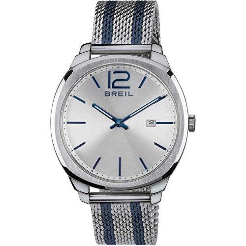 Breil Reloj Analógico para Hombre de Cuarzo con Correa en Tela TW1728