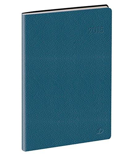 Quo Vadis - Toscana - Affaires Prestige - Agenda Civil Semainier 10x15 cm Bleu - Année 2015