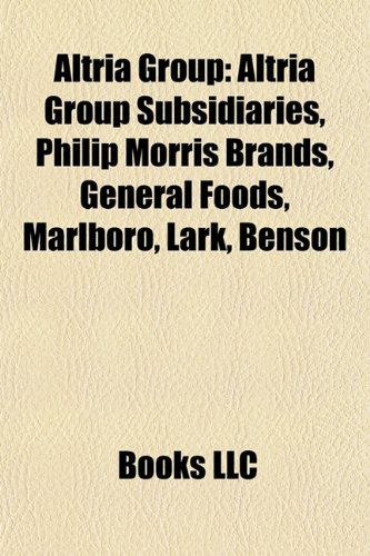 altria-group-altria-group-subsidiaries-philip-morris-brands-general-foods-marlboro-lark-benson