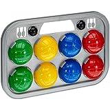 Simba 7401391 - Boccia Spiel Tragekorb
