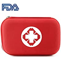 Tragbare medizinische Rettungs-Tasche, Miniüberlebens-Erste-Hilfe-Behandlung leerer Kasten-Notfall-Obacht-Fall... preisvergleich bei billige-tabletten.eu
