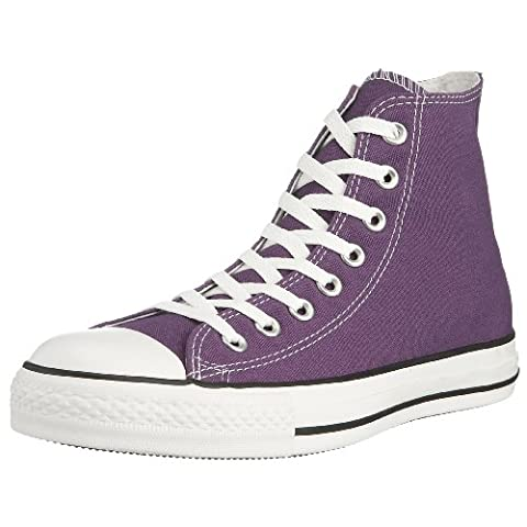 Converse Unisex Chuck Taylor All Star Core Hi Canvas Laker Purple 1J622 7 UK