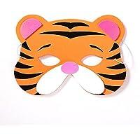 ParttYMask Mascarada,Niño máscara Historieta Animal niño máscara niña Danza máscara Tigre Masquerade