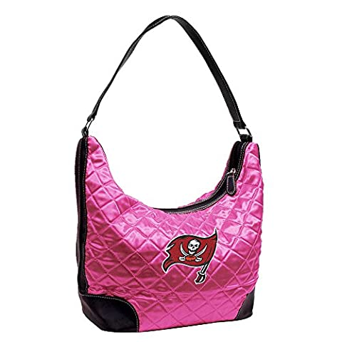 NFL Tampa Bay Buccaneers Pink Quilted Hobo