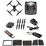 Hubsan H501S X4 Brushless FPV GPS Quadrocopter 5.8 Ghz Drohne mit 1080P Full HD Kamera und Follow-Me Modus RTH-Funktion Schwarz&Gold