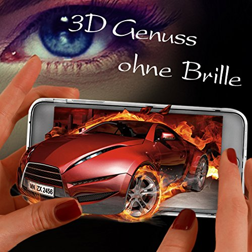 MRSMR Schutzhülle Handyhülle Phantom 3D Display Durchsichtig Handyfolie 3D Virtuelle Realität Brille Headset für Apple iPhone 6 Plus/6S Plus