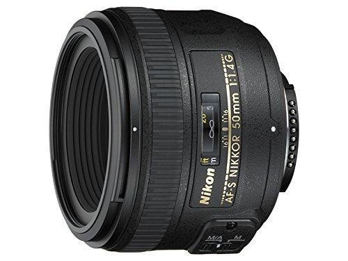 Nikon AF-S NIKKOR 50mm f/1.4G Lente, Negro [Nital Card: 4años de garantía]
