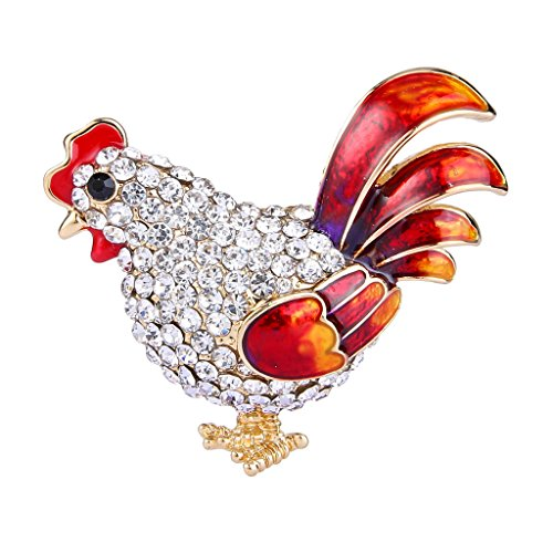 ever-faith-mujeres-cristal-red-esmalte-party-lindo-rooster-animal-accesorio-broche-claro-oro-tono