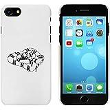 Blanc 'Serpent de Lait' étui / housse pour iPhone 7 (MC00080748)