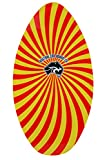 Circle One Blitz Wooden Skimboard - Red Graphic, 39-Inch