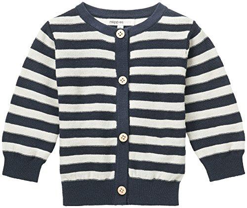 Noppies Unisex Baby Strickjacke U Cardigan Knit Daone, Blau (Dark Indigo C152), 68 Preisvergleich