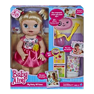 Baby Alive - My Baby All Gone Doll Blonde