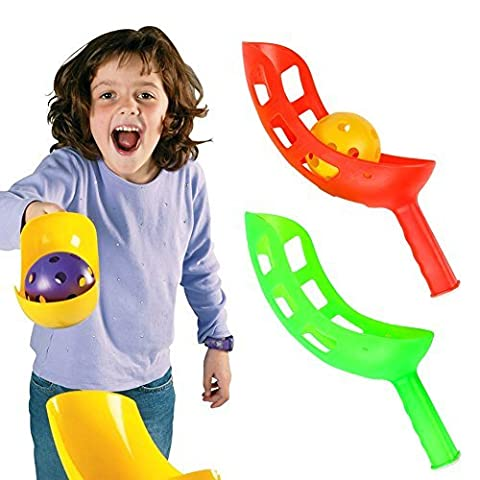 Fun Air Scoop Ball Outdoor Sports Game for Kids Package of Two