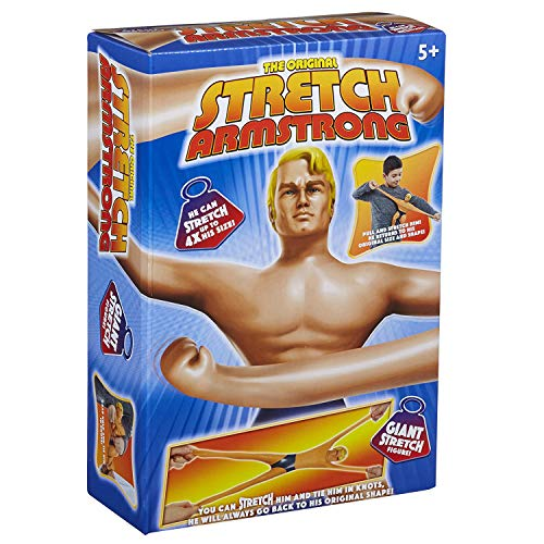 Stretch Armstrong 34379 - Stretch Figur Armstrong, Actionfigur, Groß, hautfarben