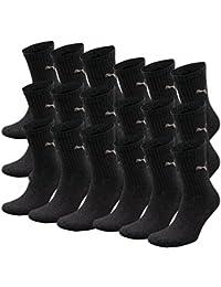 PUMA crew lot de 6 paires de chaussettes de sport avec dessous en éponge de 18 Gris anthrazit 47-49