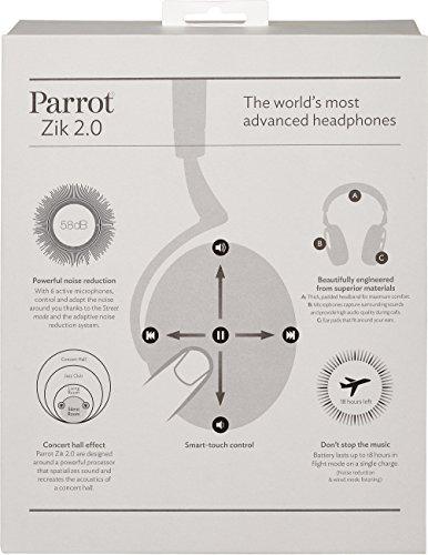 Parrot ZIK 2.0 by Philippe Starck Bluetooth on-Ear-Kopfhörer orange - 8