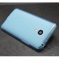 Prevoa ® 丨 Silicona TPU Funda Cover Case para Meizu MX4 PRO 5.5 Pulgadas Smartphone - Azul