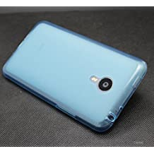 Prevoa ® 丨 Meizu MX4 PRO Funda - Silicona TPU Funda Cover Case para Meizu MX4 PRO 5.5 Pulgadas Smartphone - Azul