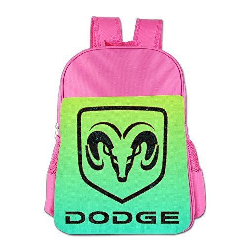 launge-kids-dodge-logo-school-bag-backpack