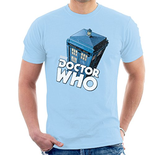 Classic Doctor Who Logo and TARDIS T-shirt - many colours