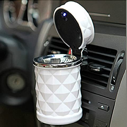 Aoligei Diamond cut, car, ashtray, car, led lights