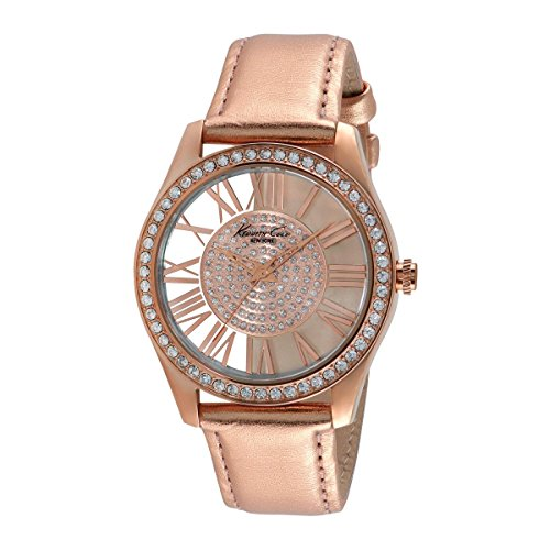 Kenneth Cole New York Women's Quartz Watch with Black Dial Analogue Display 10012486KC2829