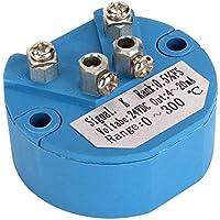 CNBTR Temperaturfühler Typ K DC 24V Kunststoff Blau 0-300C 4-20mA Ausgang