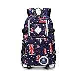 Schulrucksack Canvas Rucksack Rucksack Schule/Schulranzen Teenager Baumwollstoff Schultasche Outdoor Freizeit Daypacks