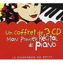 Mon premier récital de piano (Coffret 3 CD)