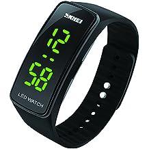 Reloj deportivo digital para niños, impermeable, con alarma, reloj de pulsera electrónico para