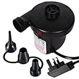 Electric Air Pump inflator/deflator for airbeds paddling pools & toys, ELOKI Electric Camping