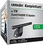 Rameder Komplettsatz, Dachträger Tema für VW Transporter T5 Kasten (118906-05004-2)