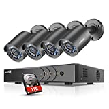 Best Surveillance Systems - Sannce 8-Channel 1080P Lite 4-IN-1 CCTV DVR+ 1TB Review
