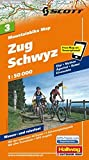 MTB-Karte 03 Zug - Schwyz 1:50.000: Mountainbike Map (Hallwag Mountainbike-Karten)