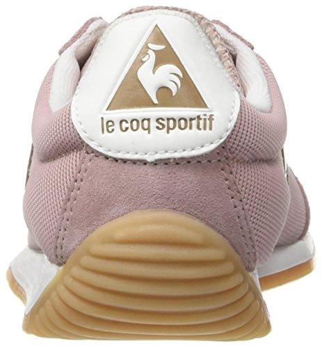 Le Coq Sportif Quartz W Nylon, Formatori Bassi Donna Rosa (Pale Mauve)