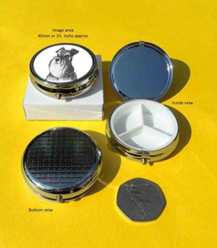 miniature-schnauzer-gift-porta-pillole-in-metallo-lucido-color-argento-un-bel-regalo-per-tutte-le-oc