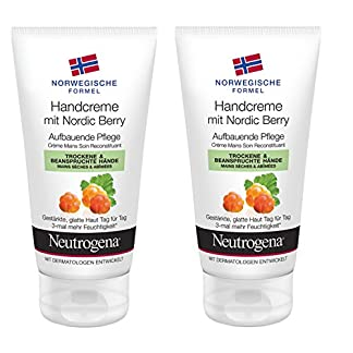 Neutrogena nórdica Berry Crema de Manos, 2-pack (2 x 75 ml)