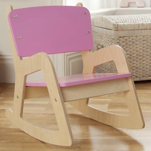 Millhouse Children's Wooden Rocking Chair (Pink)
