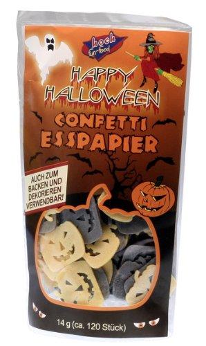 Happy Halloween Confetti Esspapier (Food Halloween-fun)
