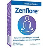 Zenflore by PrecisionBiotics | 30 Capsules Tube Pack (1 Month) | Reduces Fatigue and Supports Mental Performance | Clinically Studied in People with Everyday Stress | Unique 1714-Serenitas Culture