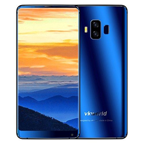 Lg 3g Phone Entsperrt (vkworld S8Entsperrtes Smartphone 4GB + 64GB 15,2cm Full Screen Android 7.0mtk6750t Octa Core bis zu 1,5GHz WCDMA & GSM & FDD-LTE)