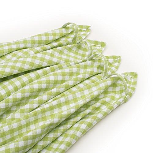 Strofinacci da cucina FILU (4 pezzi, calce e bianco) Strofinaccio da ...